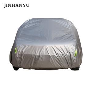 JINHANYU volle Auto-Cover Outdoor Prevent Regen Sun Snow Car-Schutz-Abdeckung wasserdicht für das Schrägheck Limousine SUV Mantel Schild