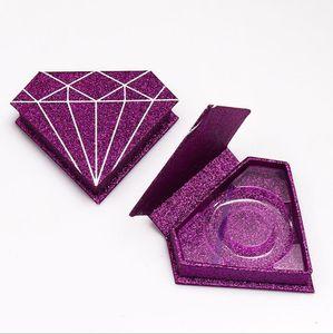 mayor caja de embalaje de papel pestaña de la pestaña Caja de empaquetado personalizado Logo Falsas 3d Mink pestañas Cajas Faux Cils la caja vacía franja de pestañas