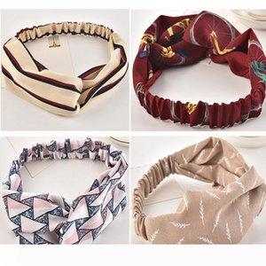 001 quentes Womens Crochet Outono-Inverno Bandas Knitting Headbands Cabelo Hat Moda ampla headbands headwrap wi cabeça