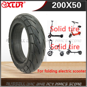 200x50 Solid Tire 8 x 2 inch for Folding Electric Scooter 8-inch E-Scooter Pocket Bike Razor E100 E150 E-200