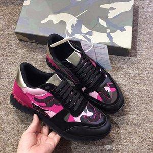 2019New Sezon Tasarımcı Ayakkabı Moda Lüks Kadınlar Erkekler Deri Lace Up Platformu Boy Sole Sneakers Siyah Beyaz Casua zhan190513 Ayakkabı