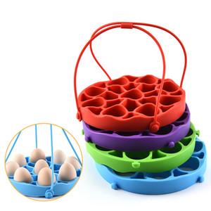 Силиконовые пропаренного Яйцо стойки 9 Отверстие Гибкая силиконовая Egg Rack держатель Кухня Eggy Steaming Rack Кухня Яйцо Инструменты