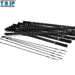 TASP 48pcs 130 milímetros Spiral Scroll Saw Blades Mão Fret Coping lâmina de serra para cortar madeira