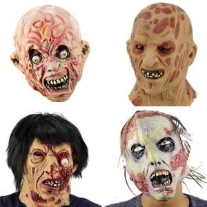 Freies Verschiffen heißen Verkauf Realistische Spielzeug Krueger Kostüm Requisiten Freddy Maske Halloween Horror Geist Zombie Freddy Jason Mas T200326 Latex
