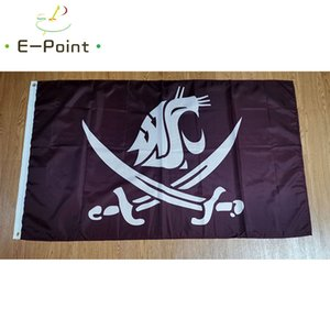 Flag of Washington State Cougars 3ft*5ft (150cm*90cm) Flag Banner decoration flying home & garden outdoor gifts
