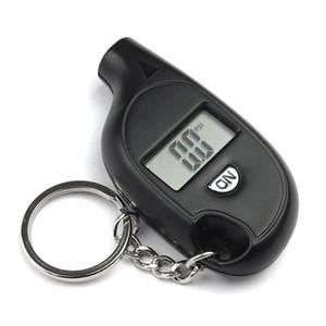 Mini LCD digitaler Reifenreifen Keychain-Luftdruckmesser für Auto Auto Motorrad mit Batterie
