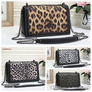 Design di lusso Borse Portafogli da donna Totes Leopard Stripes borsa famosa di modo delle donne della traversa del sacchetto corpo della frizione della spalla della borsa Borse borse