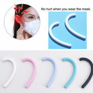 Maschera morbido silicone del gancio dell'orecchio di Anti-Leak Anti-Pain invisibile Earmuffs Ear Ear Protection Artefatto Epidemic accessori per la casa Prevenzione