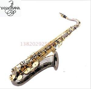 Black Nickel oro Yanagisawa T-992 Tenor Saxophone alta qualità B Tenore piatto a suonare professionalmente comma Musica Sassofono
