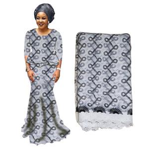 Tissu africain de dentelle de tulle brodé lacets nigérians tissu de haute qualité coton suisse dentelle tissu pour la noce