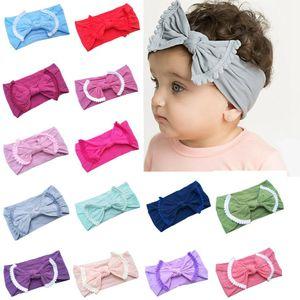 Bebê Hairband da criança Bow hairband Tassel Bebés Meninas Headband Big Knot Turban Crianças Cabelo Acessórios 22 Designs Partido RRA2716 Favor