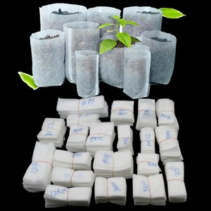 Sacchetto di semenzale non tessuto Pianta crescere Borse Seme di piante in tessuto Fiore pianta Sacchetti di verdura vegetale Sacchetti di piante biodegradabili GGA2145