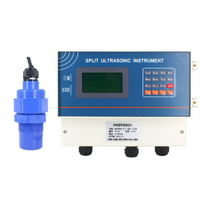 QDW70A 20 Meter Split Ultrasonic Liquid Level Sensor Diesel fuel Water Tank Level Sensor Relay Output Liquid Transmitter