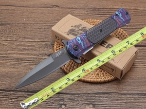 JEP DA145 Titanium Pocket Pliant Couteau Flipper Tactique Camping Chasse Survie Couteau Gris lame en titane Outdoor Gear Utility EDC Outil