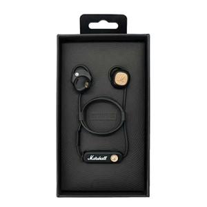 Marshall Menor II Bluetooth fones de ouvido Sem Fio Fones De Ouvido DJ Perfeito Som Fones De Ouvido Função de Pausa magnética Melhor Qualidade Loja de Fábrica