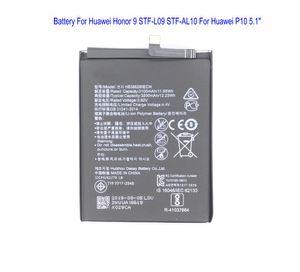 """1x 3200mAh Replacement HB386280ECW della batteria per Huawei Honor 9 STF-L09 STF-AL10 per Huawei P10 5.1"""" pollici Batterie"""