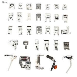 32 42 48 52pcs Presser Foot Domestic Sewing Machine Braiding Stitch Darning Presser Foot Feet Kit Set For Brother Singer Janome