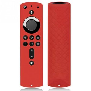 5.9 Inch Soft Remote Control Dustproof Solid Anti-scratch Decorative Protective Cover Full Silicone Case For Fire TV Stick 4K
