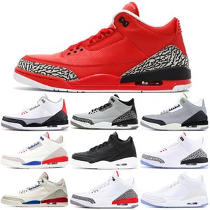 Drop Shipping Basketball Schuhe Herren Trainingsstiefel Wohltätigkeitsspiel City of Flight Pure White Wolf Grey Athletic Outdoors Sports Größe 7-13