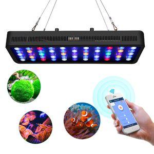 LED Aquarium-Licht Dimmbare Korallenriff Led-Leuchten 165W für Aquarium, Full Spectrum Korallenriff wachsen Lampe geeignet für 55-75 Gallon SÃ