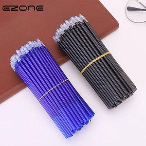 20PCS effaçable Pen E-Zone Recharge Blue / encre noire magique effaçable stylo Recharge étudiants Papier à lettres cadeau pour les étudiants