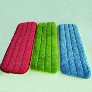 10PCS / juego fibra spray Mop Head piso trapo de limpieza pegar el Mop Para reemplazar trapo de limpieza del hogar Accesorios