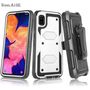 For Alcatel 3V 2019 Walters A30 Fierce Idol 4 TRU A3 Heavy Duty Shockproof Holster swivel Belt Clip Rotatable Kickstand Defender CASE