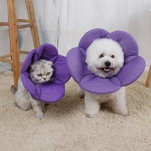 Kedi Köpek Pet Koruyucu Yaka Çiçek Elizabeth Yaka Yaratıcı Pet Boyun Çember