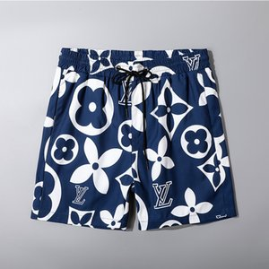 bordado mayor del verano de la Junta Shorts para hombre verano Beach pantalones cortos de alta calidad traje de baño de las Bermudas masculino Carta vida de la resaca de los hombres de la nadada