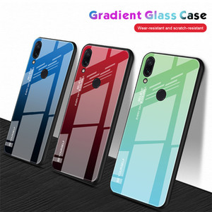Tempered Glass Case For Huawei P20 P30 Mate 20 30 Gradient Cover For Honor 10 8X 8A Note 10 20