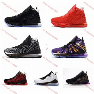 xshfbcl cheap mens new lebron 17 basketball shoes for sale Purple Yellow Glow in dark MVP womens youth kids lebrons james sneakers tennis
