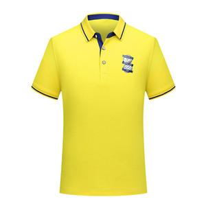 Birmingham City 2020 coton mode été le football polo hommes chemise à manches courtes hommes de football cravate polo en jersey de formation polo Hommes Polos
