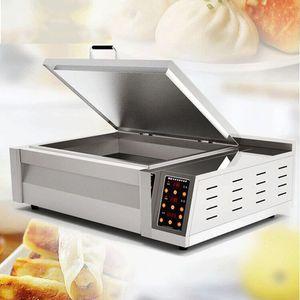 Commercial fried dumpling machine for multi-function frying pan in canteen restaurant breakfast bar snack bar
