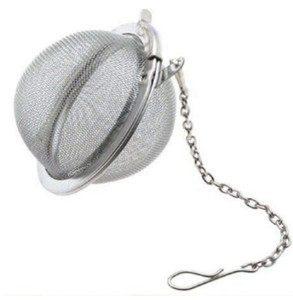 Stainless Steel Tea Ball 5cm Mesh Tea Infuser Strainers Premium Filter Interval Diffuser For Loose Leaf Tea Seasoning Spices