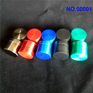 40mm Colorful Herb Grinders 3 Layer Tobacco Grinder Powder Grinder Snuff Grinder The Clipper Grinders aa
