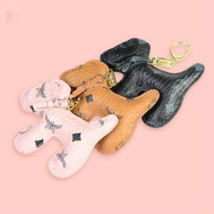Kids Designer Cartoon Accessories Fashion Bag Pendant Dog Shape Cute Key Chain Ladies Bag Pendant Small Gift Children Bag Accessories 2020