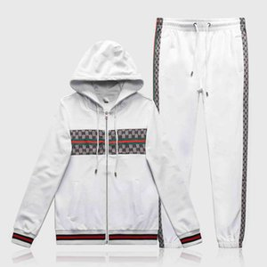 2020 NewHigh Quality Mens Sweatshirts Sweat Suit design Clothing Men's Tracksuits Jackets Sportswear Sets Jogging Suits