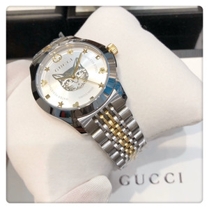 Designer relógios homens relógios de luxo assistir congelado para fora relógio Reloj de lujo Orologio de Luxo série atemporal abelhas