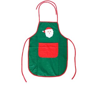 YEDUO Nonwoven Santa Claus Apron Free Size for Birthday   Christmas Day