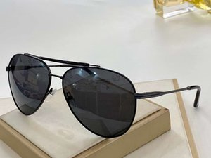 Men Metal black Pilot Sunglasses 0467 Sun Shades vintage sunglasses luxury designer sun glasses occhiali da sole New with box