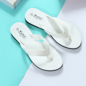 Spring Summer Flat Slippers Ladies Bohemia Beach Flip Flop Non-slip Lightweight Flats Slaps Women Shoes Chaussures Femme
