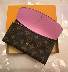 2019 ücretsiz kargo Toptan kırmızı tabanlar bayan uzun cüzdan çok renkli lüks bozuk para cüzdanı Kart sahibinin orijinal kutu kadınlar klasik fermuar pocke
