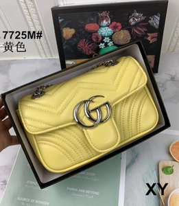 2020 hot selling chain shoulder Guccİ bag PU leather cross-body bag, new women's handbags high quality free shipping 05