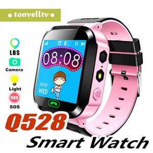 مشاهدة الأطفال الذكية ووتش Q528 شاشة تعمل باللمس مع كاميرا GPS رطل النداء البعيد SOS الصحة مقياس الخطو رصد دقيق للموقع