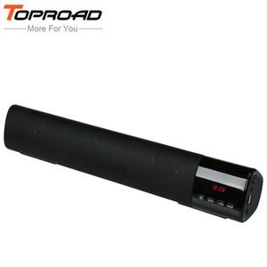 Toproad Big Power 10 Вт Hifi Портативный Беспроводной Bluetooth-динамик Стерео Soundbar Tf Fm Usb Колонка Сабвуфера Для Компьютера Tv Телефон T190704
