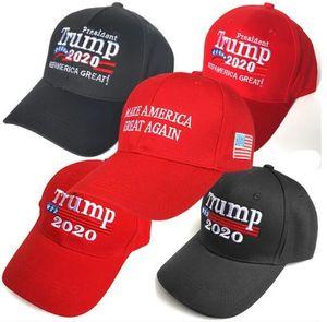Donald Trump 2020 Berretto da baseball rendere l'America Great Again Hat Ricamo a mantenere l'America Grande cappello tappi repubblicano Presidente Trump