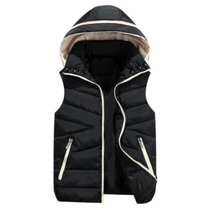 2019 Winter Boys Girls Vest 어린이 Hooded Vests 양복 조끼 대 한 Kids Coat 인과적인 Vest 자식 양복 어린이 Outerwear