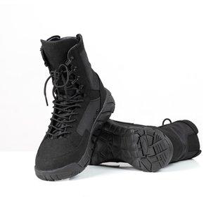 أحذية المشي لمسافات طويلة CQB.SWAT جودة عالية في الهواء الطلق للرجال الصحراء العسكرية العليا التكتيكية أحذية رجالية الجندي المقاتل الأحذية العسكرية