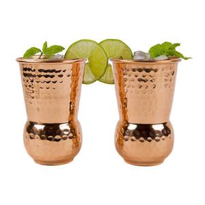Eau Tasses Rose Gold Cup Barware Moscou Tasse Mule Cocktail Bar Vodka Tasse Miroir Coupes vin Pologne Inde Arts de la table froide potable EEA1187-1