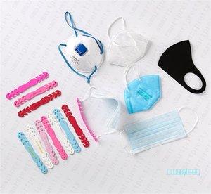 Удобная Anti-Slip маска Ear летно Удлинитель крюк Четыре шестерня маски Висячей Пряжки для Регулируемой освободивой Ear Боль Маски Аксессуары D42702